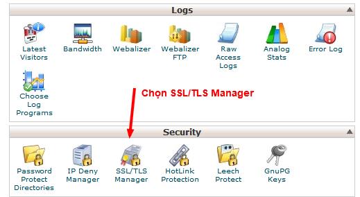 Cpanel: Hướng dẫn tạo Certificate Signing Request (CSR)