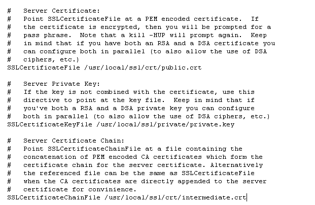 Apache: Cài đặt giấy chứng nhận chứng chỉ số SSL