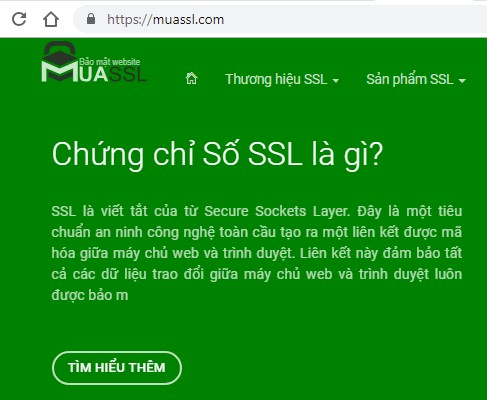 Cách xem thời gian sử dụng của chứng chỉ số SSL